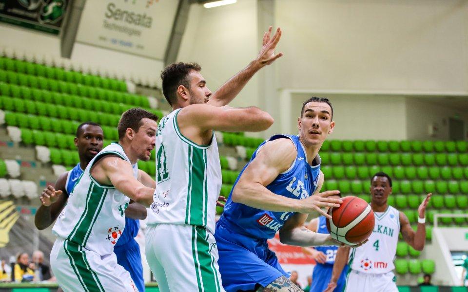 Баскетболистите на Левски се класираха за финалния плейоф в първенството