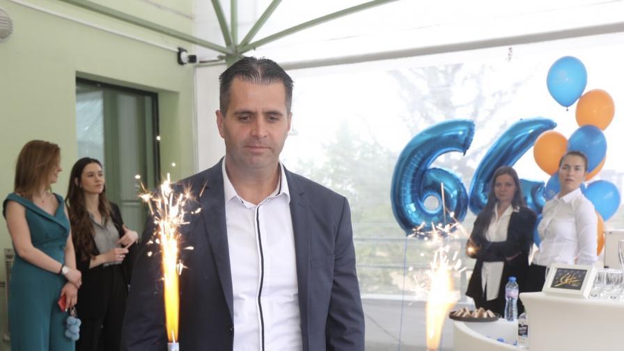 Любомир Петров: Институция, която 64 г. подкрепя българския спорт