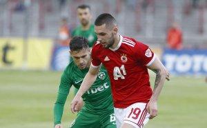 ЦСКА записа историческа победа срещу вял Лудогорец в София