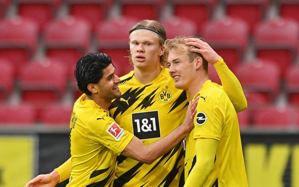 Борусия Дортмундповеде с 2:0 срещу Майнц в среща от 33-ия