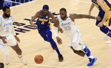 Леброн Джеймс с 25 точки при победа на Лейкърс, Стеф Къри номер 1 при реализаторите в НБА