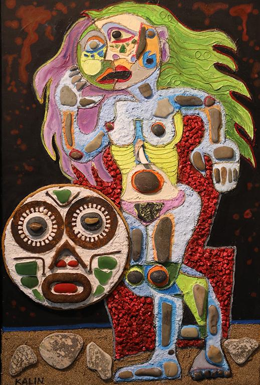 <p>Мелпомена - Муза на трагедията и театъра</p>  <p>Общи изложби: От 1986 г. участва в общи художествени изложби на &quot;Съюза на Българските Художници&quot;, в групови експозиции в България, Швейцария, Италия, Франция, Гърция, Сирия, Финландия, Русия, САЩ, Австралия, Япония.</p>  <p>&nbsp;</p>