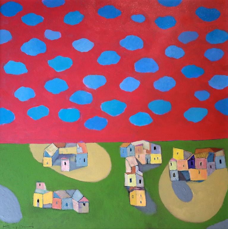 <p>Суетни облаци &bdquo;Кадифено утро&ldquo; Изложба с най-новите творби на Димитър Каратонев - живопис и графика</p>