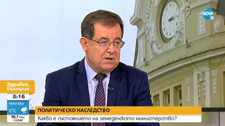 Бозуков: Кадрови промени, които не са обосновани, няма да има