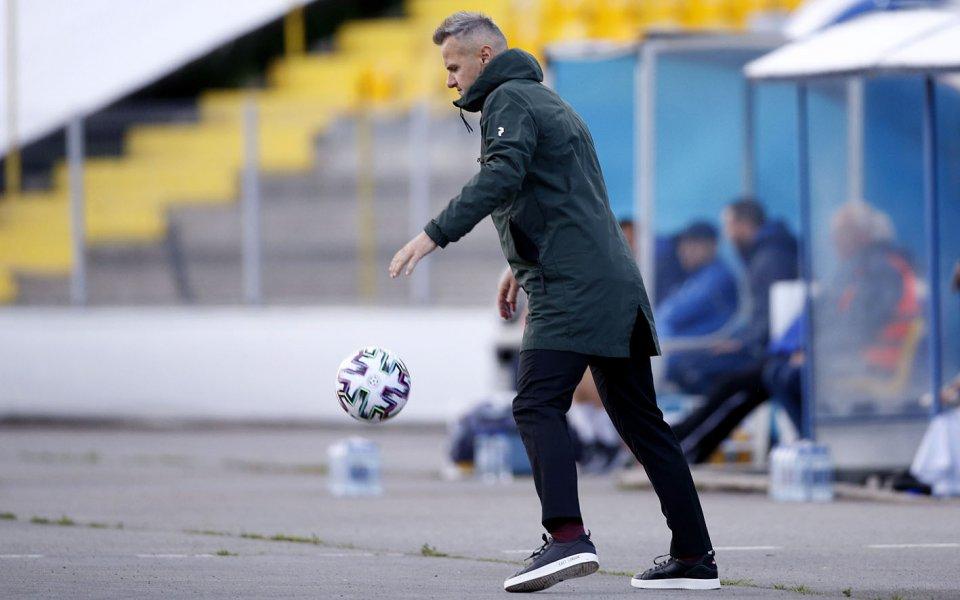 Треньорът на Ботев Пловдив Азрудин Валентич бе много щастлив след
