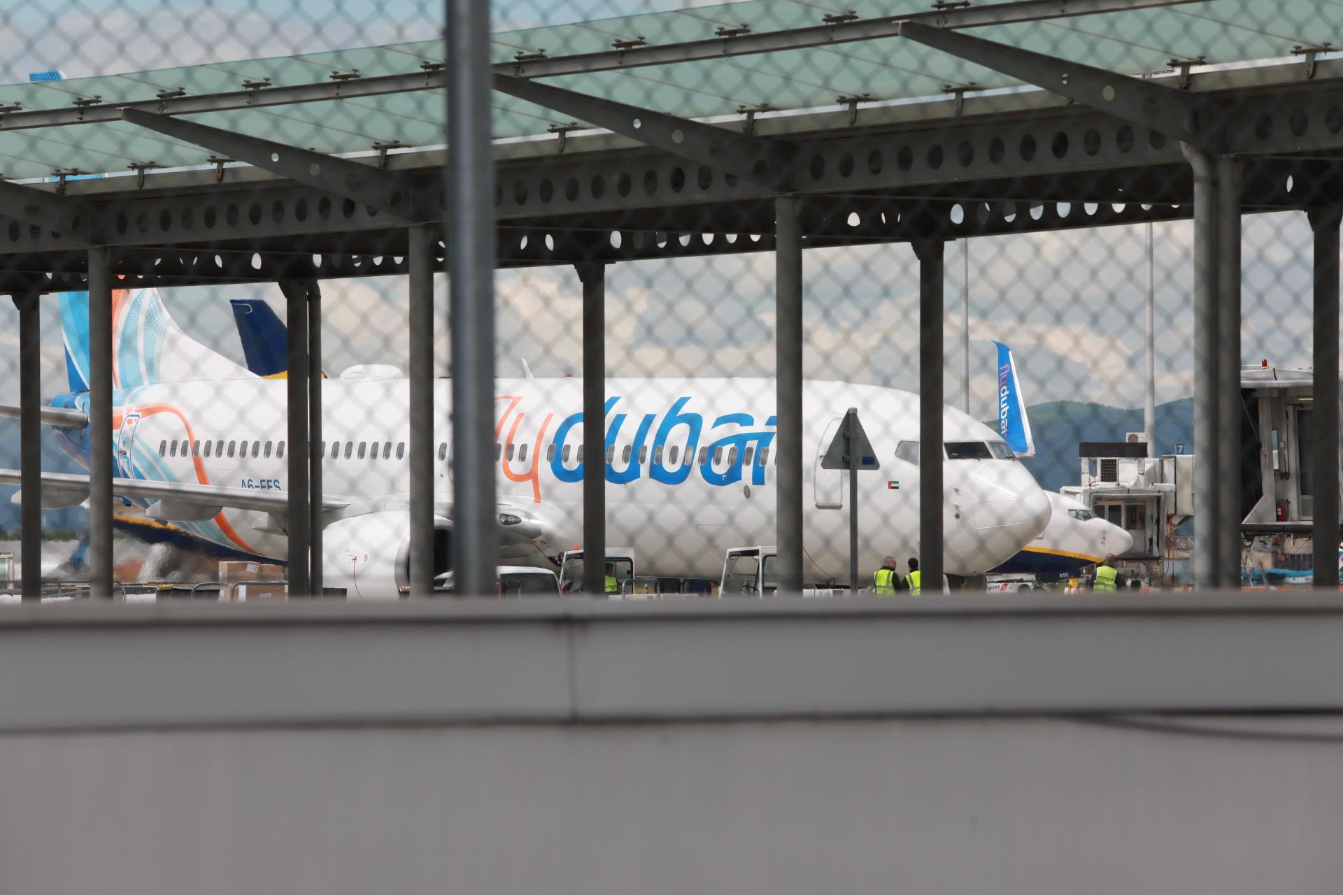<p>Георги Попов кацна на летище София с полет от Дубай</p>