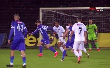 Страшен гол на Боруков препарира Славия