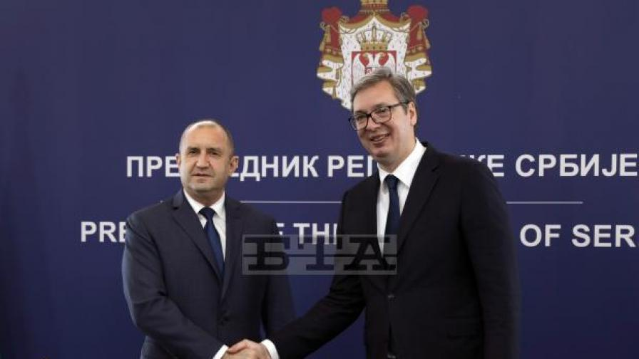 Вучич и Радев се разбраха за българското малцинство в Сърбия
