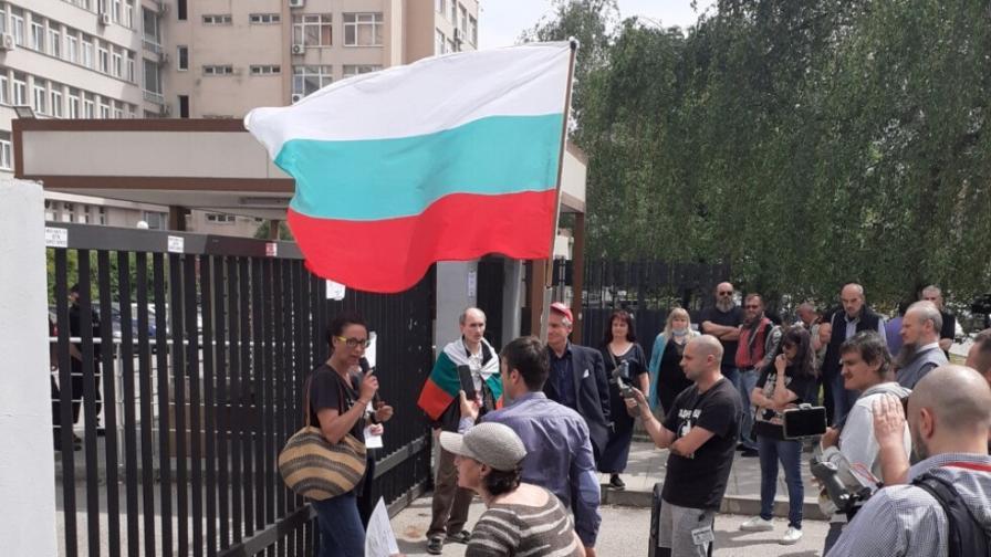 <p>Протест блокира бул. &bdquo;Черни връх&rdquo;</p>