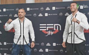 Дани Илиев и Георги Валентинов преди EFM Show 2