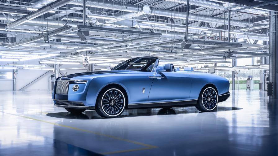 <p>Това е най-скъпият нов автомобил в света</p>