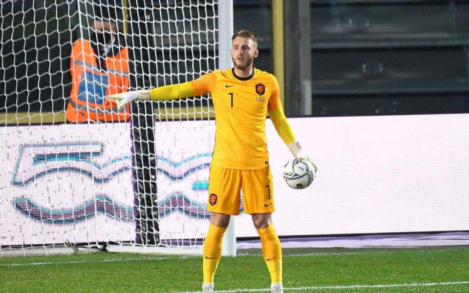 Вратарят на националния отбор на Нидерландия Яспер Силесен е дал