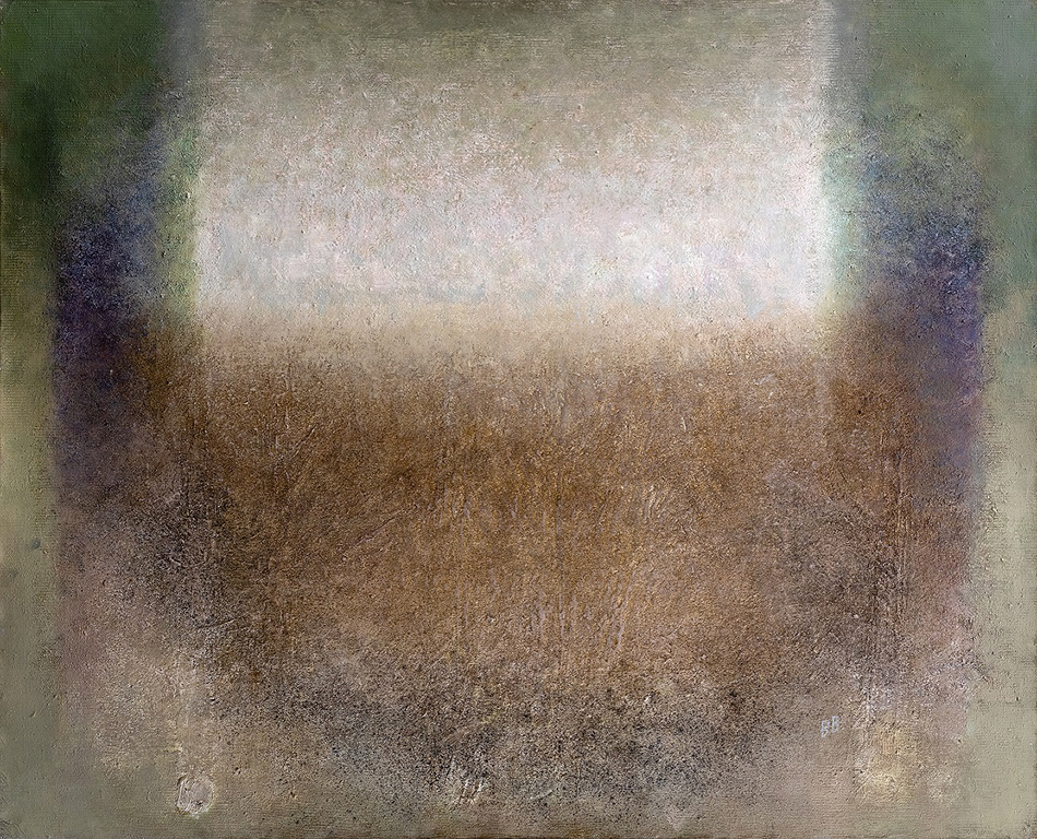 <p>И допълва: &bdquo;Картините й носят типичния за нея хроматичен колорит и &quot;вибрираща&quot; живописна повърхност, напомняща грапавината на разорана нива, напукана от сушата, или изпепелена след палеж на стърнища земя, кора на стар дънер или фактурата на родопско халище.</p>