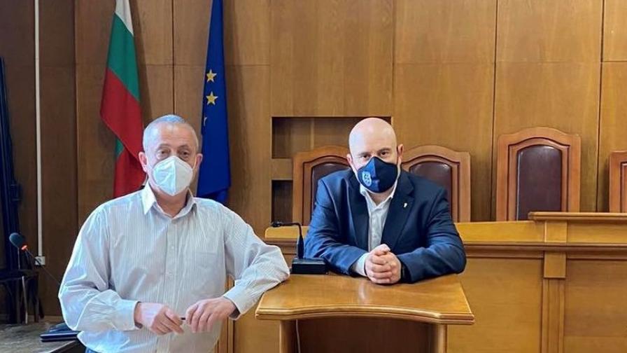 Гешев обсъди отстояването на независимостта на прокуратурата с магистрати от Пазарджик
