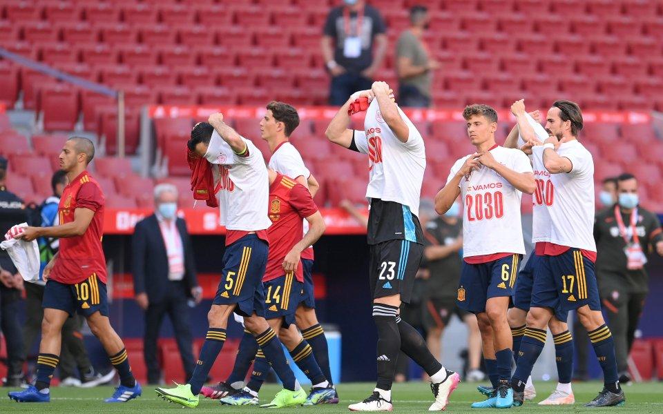Футболистите от испанския национален отбор бяха ваксинирани срещу коронавирус в