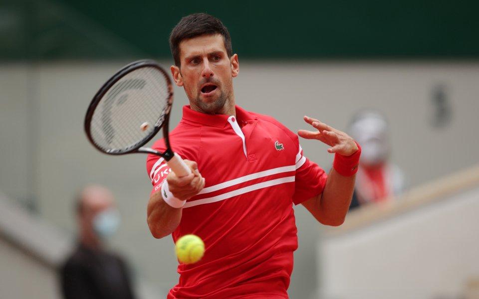 Водачът в световната ранглиста Новак Джокович (Сърбия) се класира за