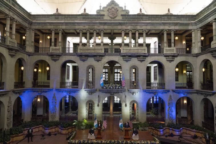 Камала Харис на посещение в Гватемала и Мексико