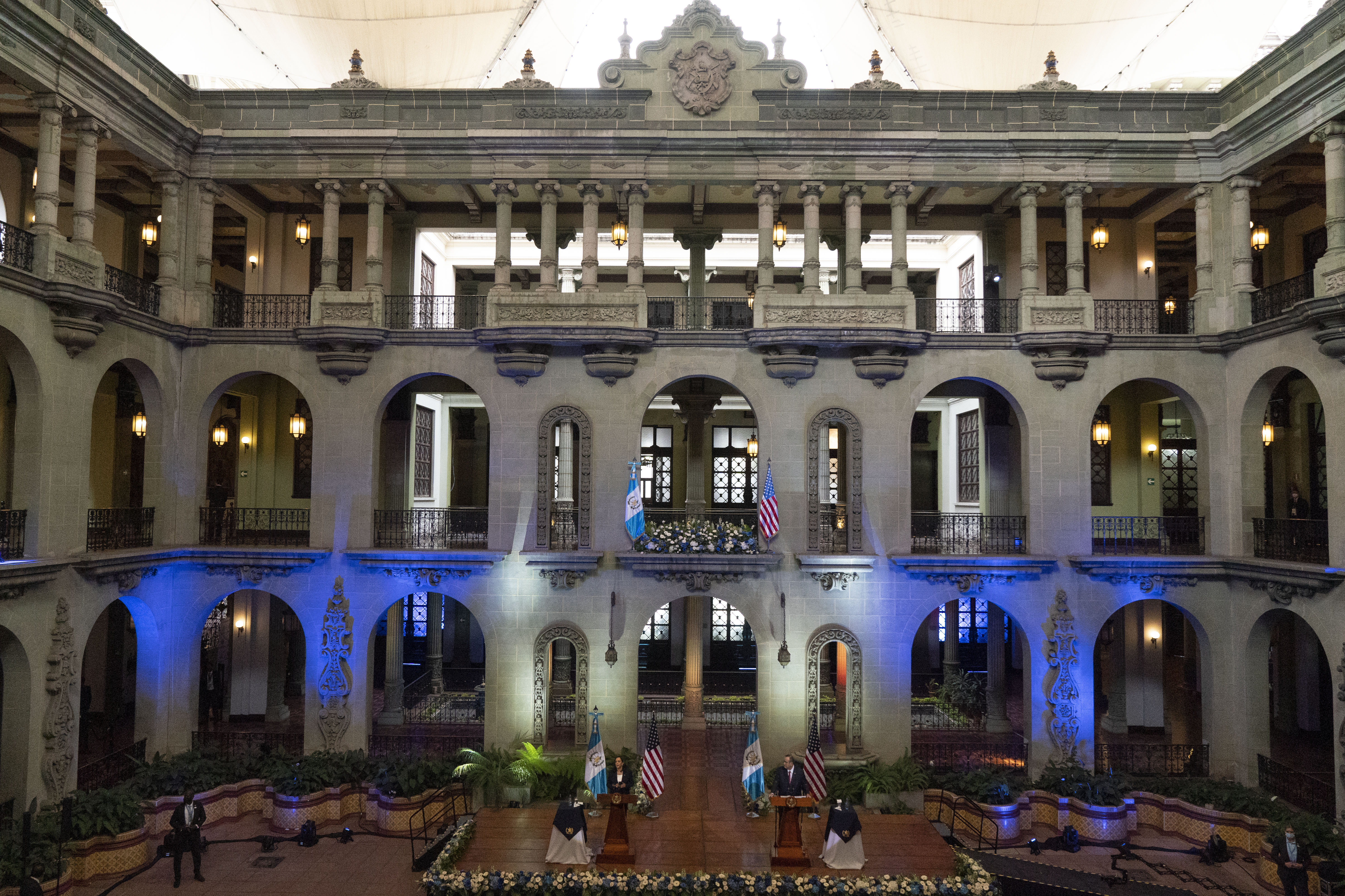 <p>Камала Харис на посещение в Гватемала и Мексико</p>