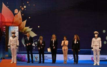 Официално откриха Европейското първенство по художествена гимнастика