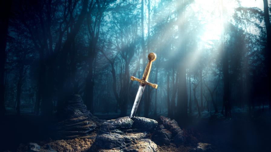 Дете откри меч от ХVI век в гора в Германия (СНИМКА)