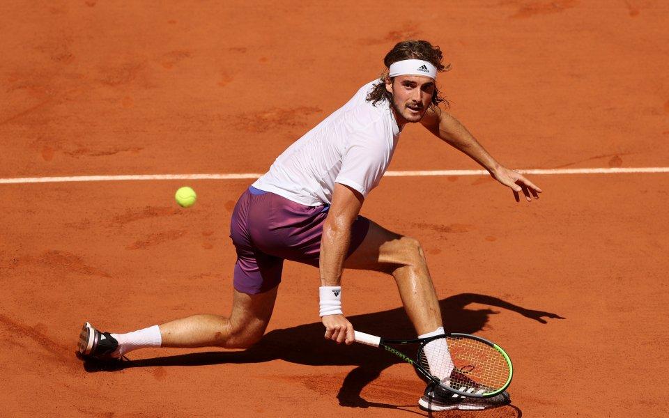 Стефанос Циципас е първият финалист на Откритото първенство на Франция.