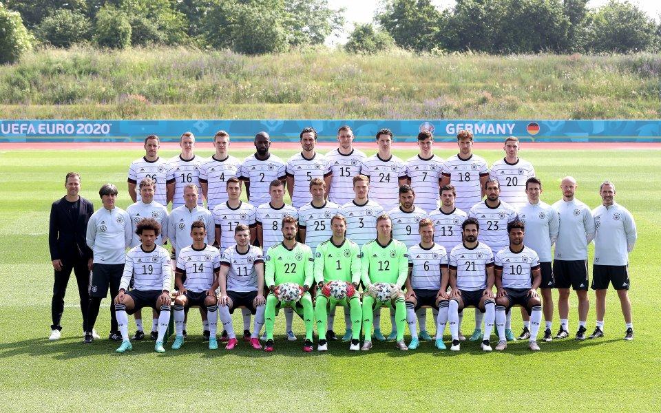 Националният тим на Германия приключи с подготовката си за започващото