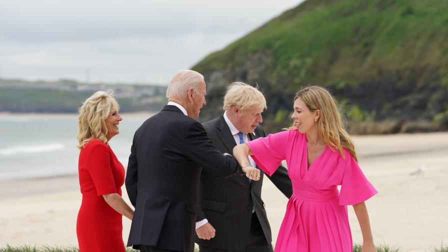 """""""Чувствам се като на сватба"""", как започна срещата на върха на Г-7"""