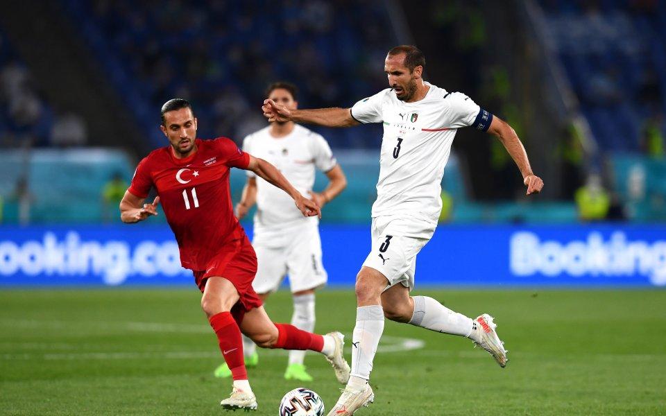 Селекциите на Турция и Италия официално откриха UEFA EURO 2020