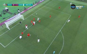Голът на Брейл Емболо срещу Уелс
