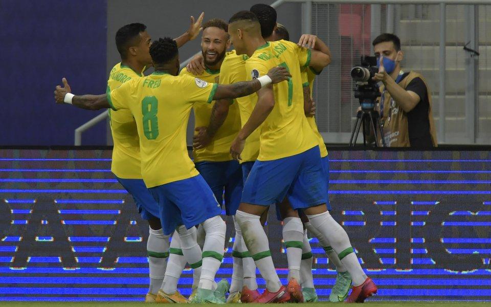 Бразилия победи Венецуела с 3:0 в мача на откриването на