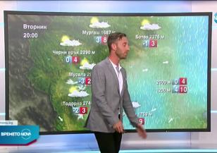 Прогноза за времето (14.06.2021 - централна емисия)