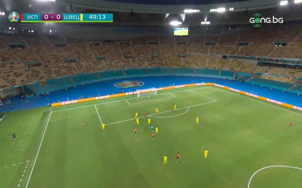 Испания и Швеция завършиха 0:0 в първия си мач от