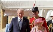 Байдън наруши протокола при срещата с кралицата