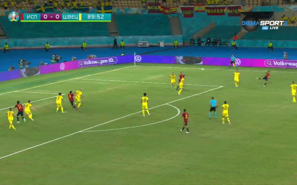 Вижте какво се случи в мачовете от UEFA EURO 2020