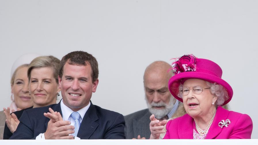 <p>Най-големият внук на кралица Елизабет II се разведе</p>