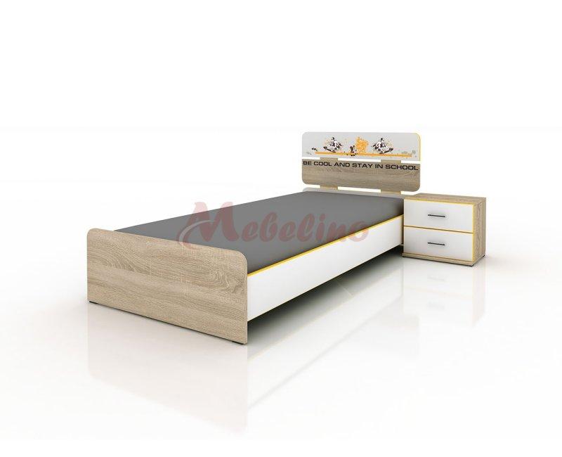 Легло Сити 2013 с вкл. нощно шкафче