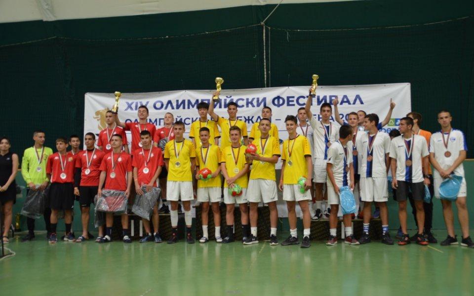 Варна, Бургас и София с най-много медали на олимпийския фестивал в Албена