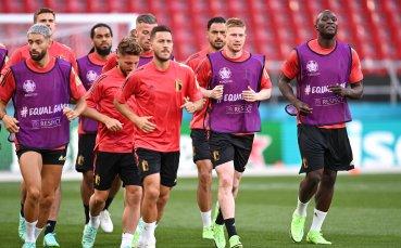 Белгийските национали ще спрат играта в подкрепа на Ериксен