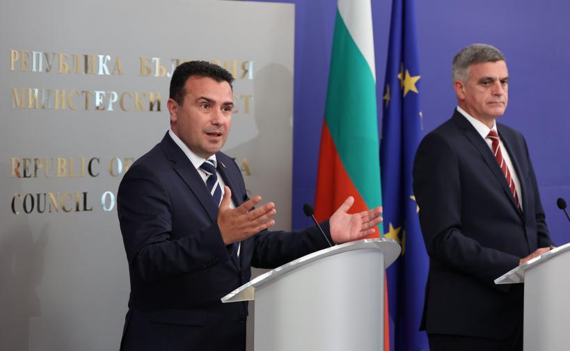 Служебният премиер Стефан Янев се срещна с премиера на Република