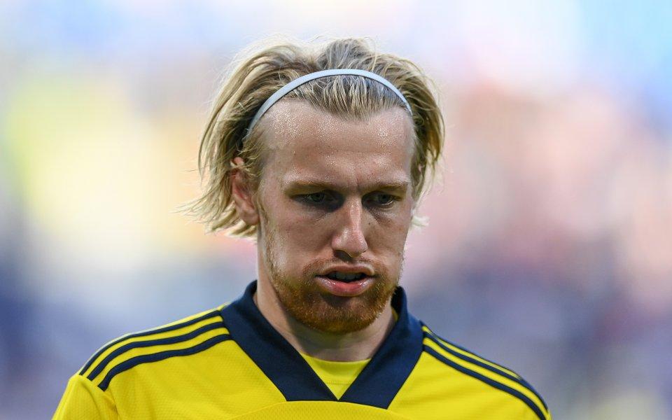 Голмайсторът за Швеция срещу Словакия Емил Форсберг изрази впечатленията си