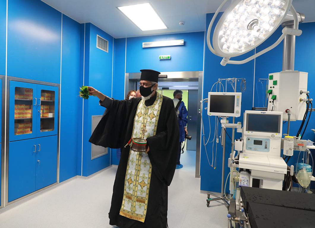<p>ВМА след цялостното обновление на Операционния център</p>
