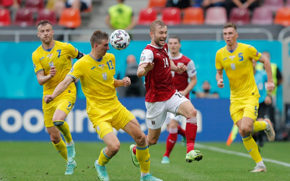 Австрия победи с 1:0 Украйна в последен двубой и за