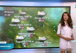 Прогноза за времето (21.06.2021 - централна емисия)