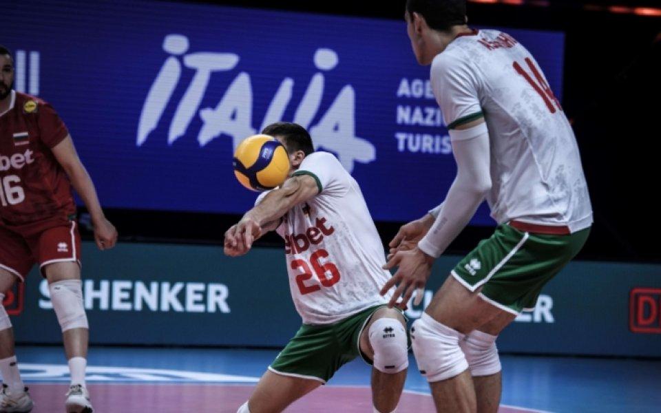 България се изправя срещу Съединените щати в предпоследния си двубой
