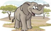 От огромен бозайник до джудже: Слонът, който загуби 8000 килограма