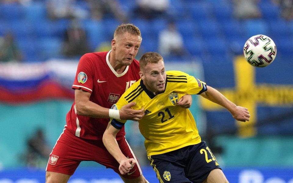 Националните отбори на Швеция и Полша играят при