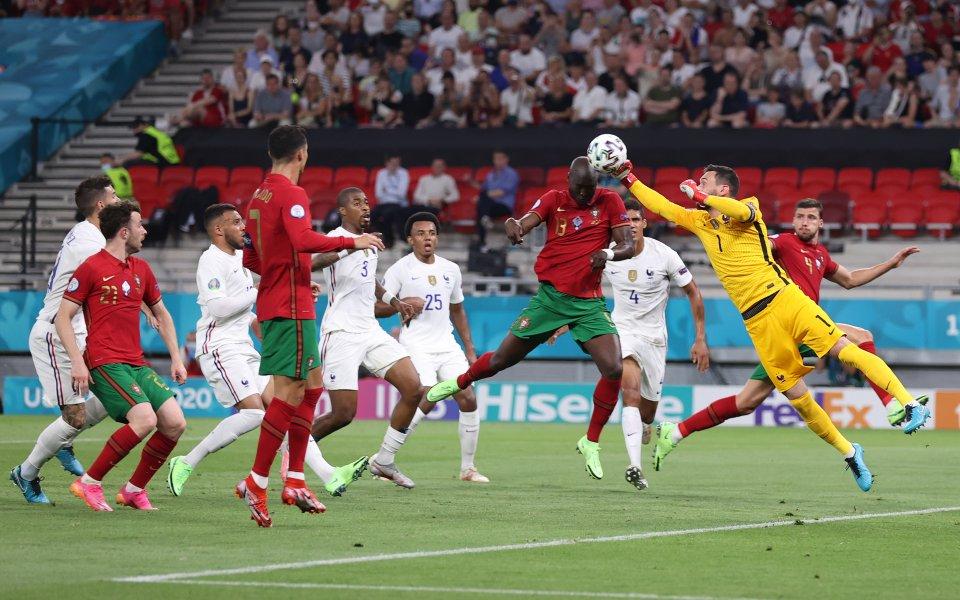 Португалия - Франция 1:1 /първо полувреме/