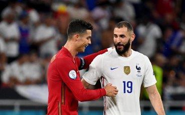 Пълен обрат за Франция срещу Португалия, Бензема с нов гол