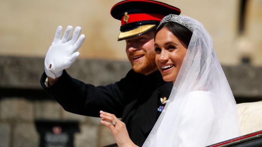 Принц Хари и Меган Маркъл се ожениха на 19 май 2018 година