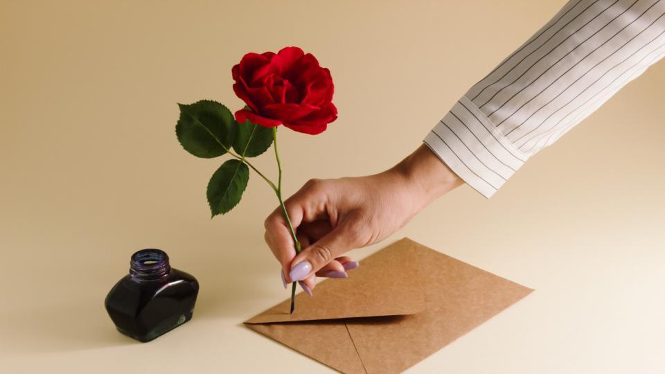 писане писмо перо